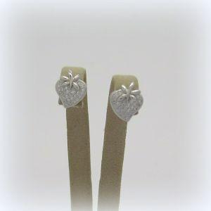 Orecchini fragola fragolina in argento 925