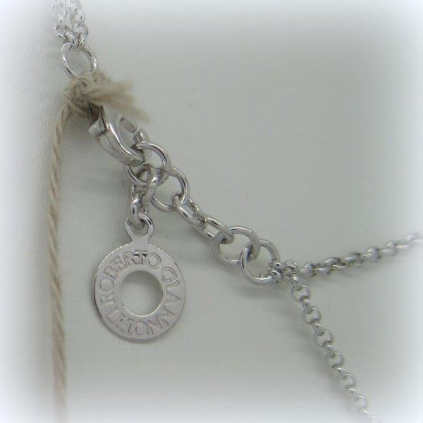 Collana angelo e ala in argento 925