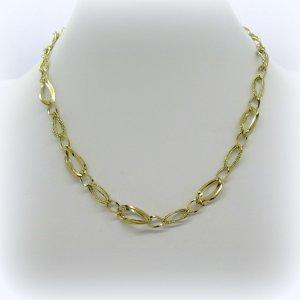 Collana collier in oro giallo 18 ct