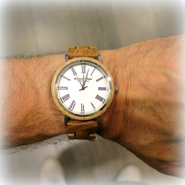 Orologio in legno uomo collezione barrique