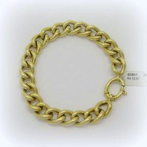 Bracciale in oro giallo groumette