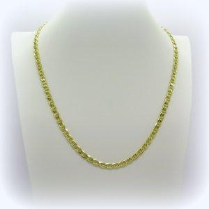 Collana in argento placcata oro giallo