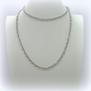 Collana donna 90 cm in argento 925