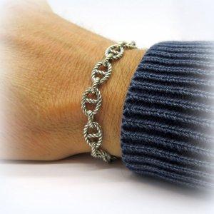 Bracciale maglia marina Sovrani argento