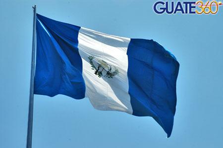 fotos de la bandera de guatemala