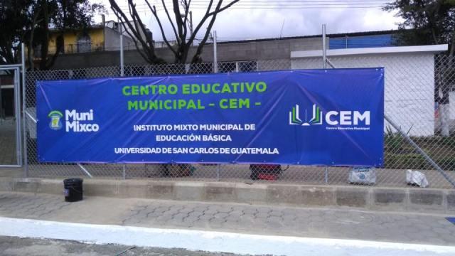 El campus de la USAC en Mixco