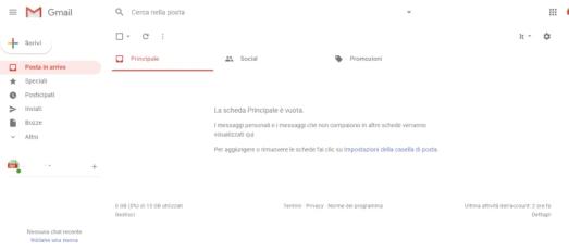screen gmail