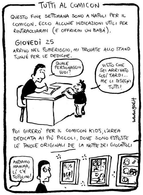 fumetti napoli comicon 2013