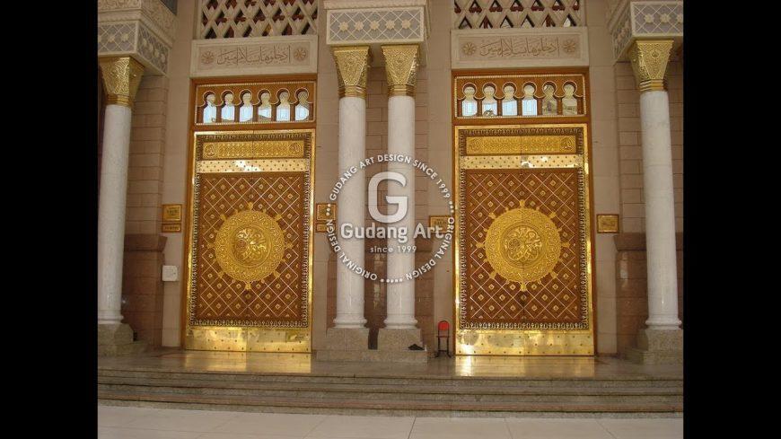 Kerajinan Pintu Masjid Nabawi Jogja Kepercayaan Masyarakat