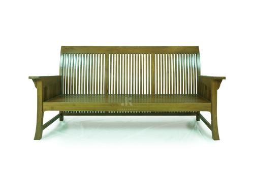 Bangku panjang minimalis satuan modern elegan kayu jati solid di bsd alam sutera gading serpong ciputat cipondoh jepara kreasi furniture tangerang selatan