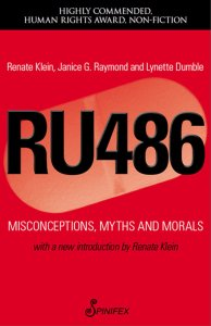 photo of RU-486 book