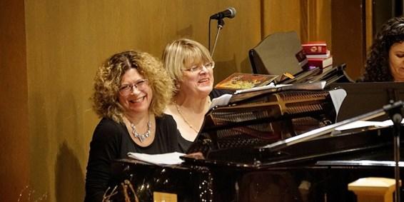 Nancy-Fischer-and-Nancy-Wells,-piano-four-hands-accompaniment