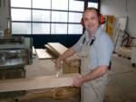 Alexander Weigel Aufgabenbereich: -Tür - und Rahmenrenovierung als Monteur vor Ort Im Betrieb seit Januar 1994.