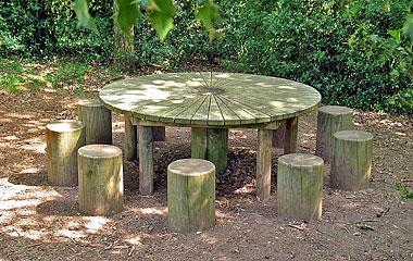 Table ronde des chevaliers