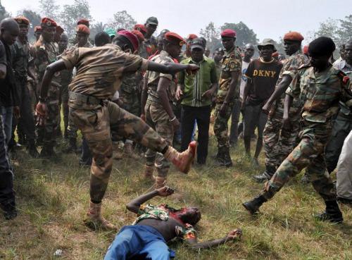 Resultado de imagen de imagenes de guerra en centroafrica