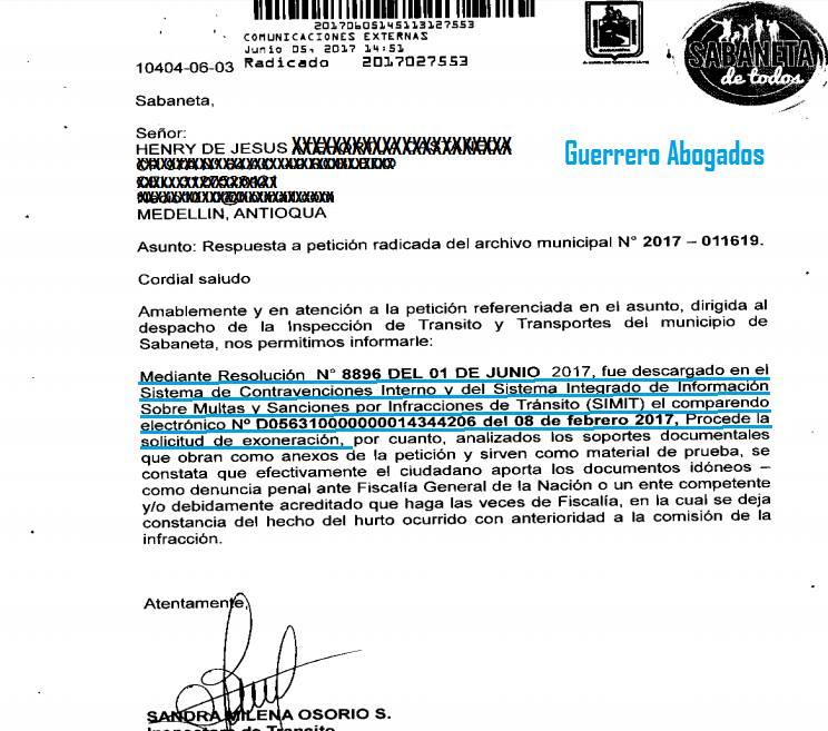 Revocatoría Fotomultas en toda colombia
