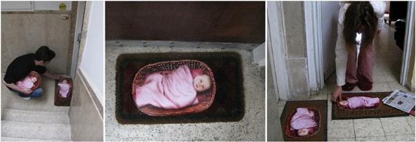 Guerrilla Marketing Voorbeeld 22 Baby