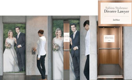 Guerrilla Marketing Voorbeeld 54 Divorce