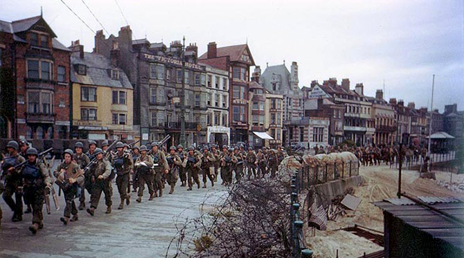 US Soldiers in Weymouth 1944