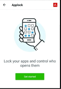 app locker in free antivirus