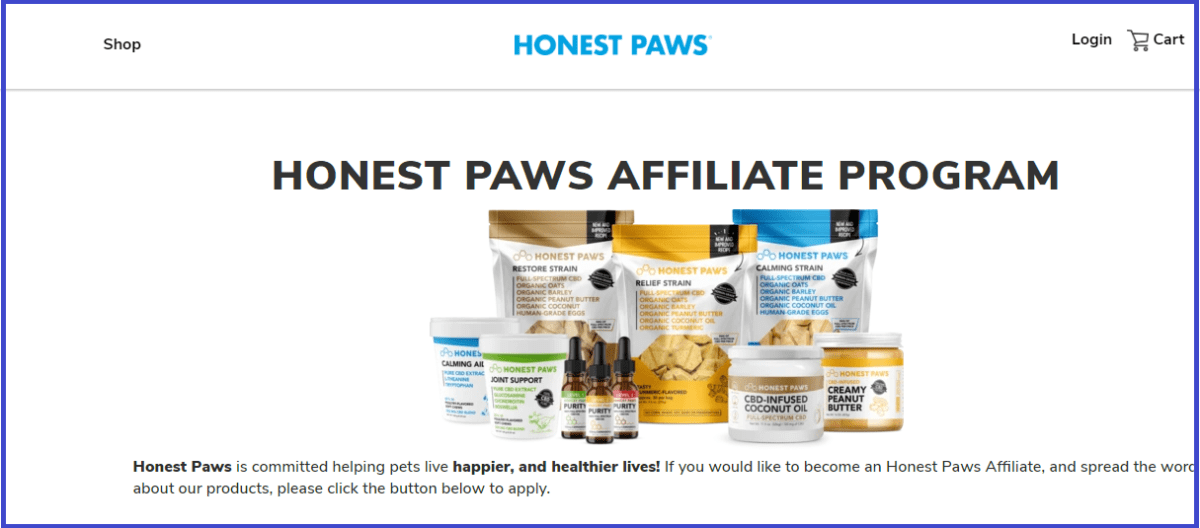 Honest Paws Affiliate Program