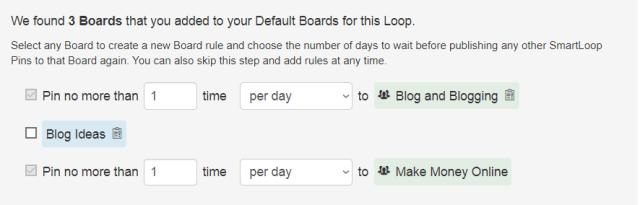 SmartLoop Board Rules