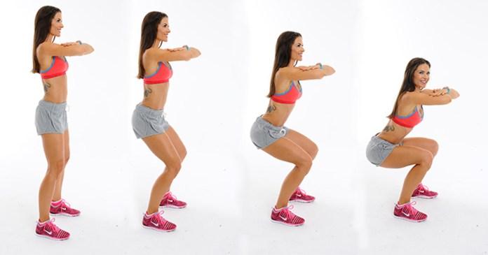 squats at home