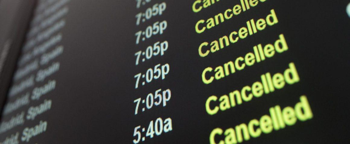 Indenização para voo cancelado: saiba como funciona
