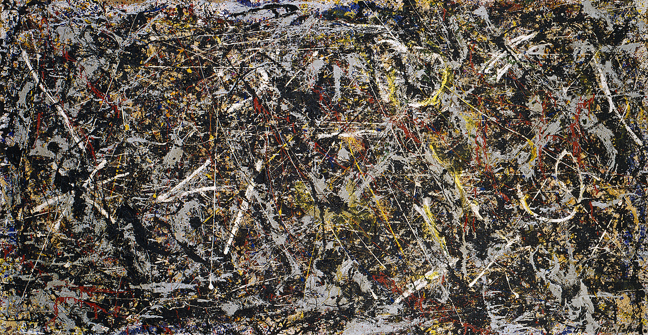 Image result for Jackson Pollock Alchimia / Alchemy, 1947