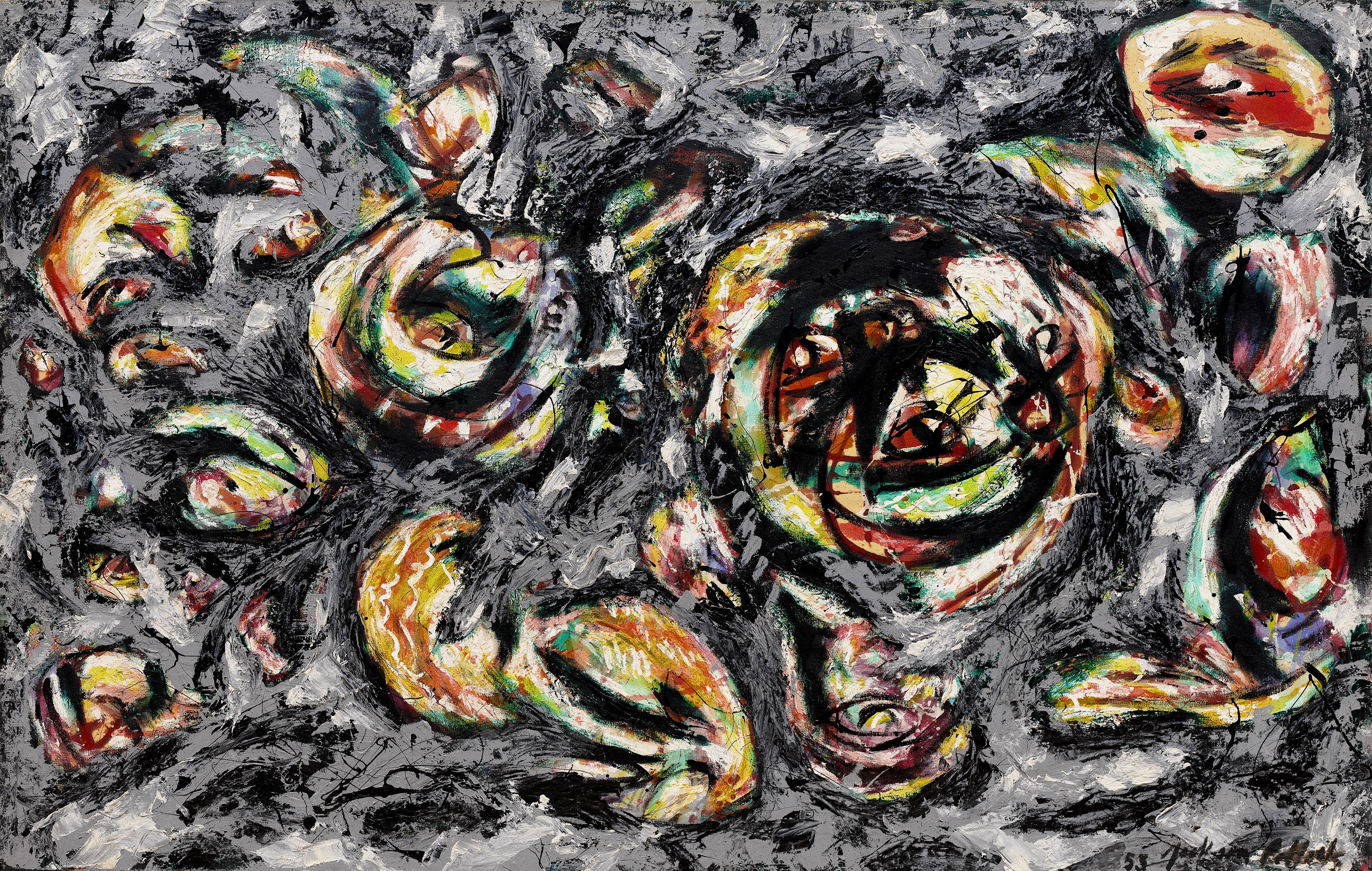 Jackson Pollock Exploring Alchemy