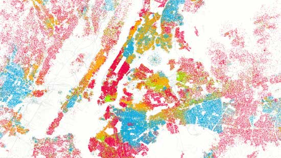 Mapping Urban EthnicityWhat Do New York Citys Shifting - Us Ethnic Demographics Map