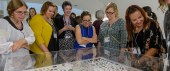 Educators at a workshop at the Guggenheim