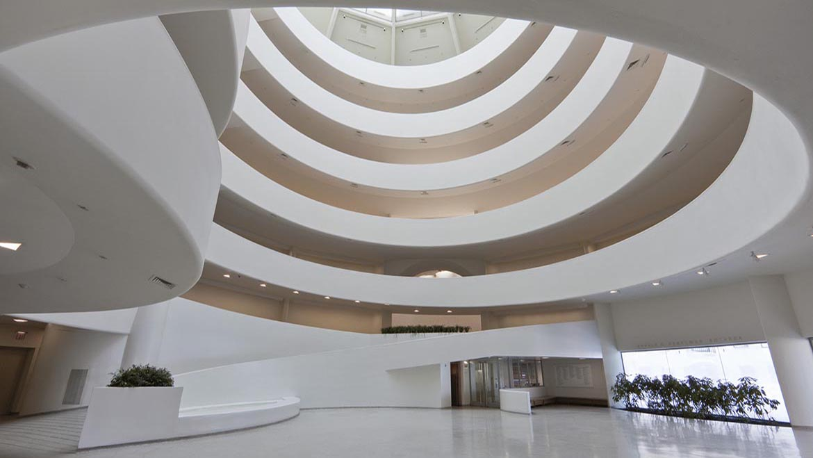 The guggenheim museum on the inside for Lloyds architecture planning interiors