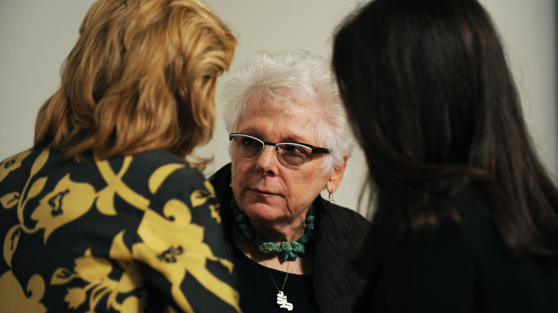 Art historian Linda Nochlin. Photo: Enid Alvarez