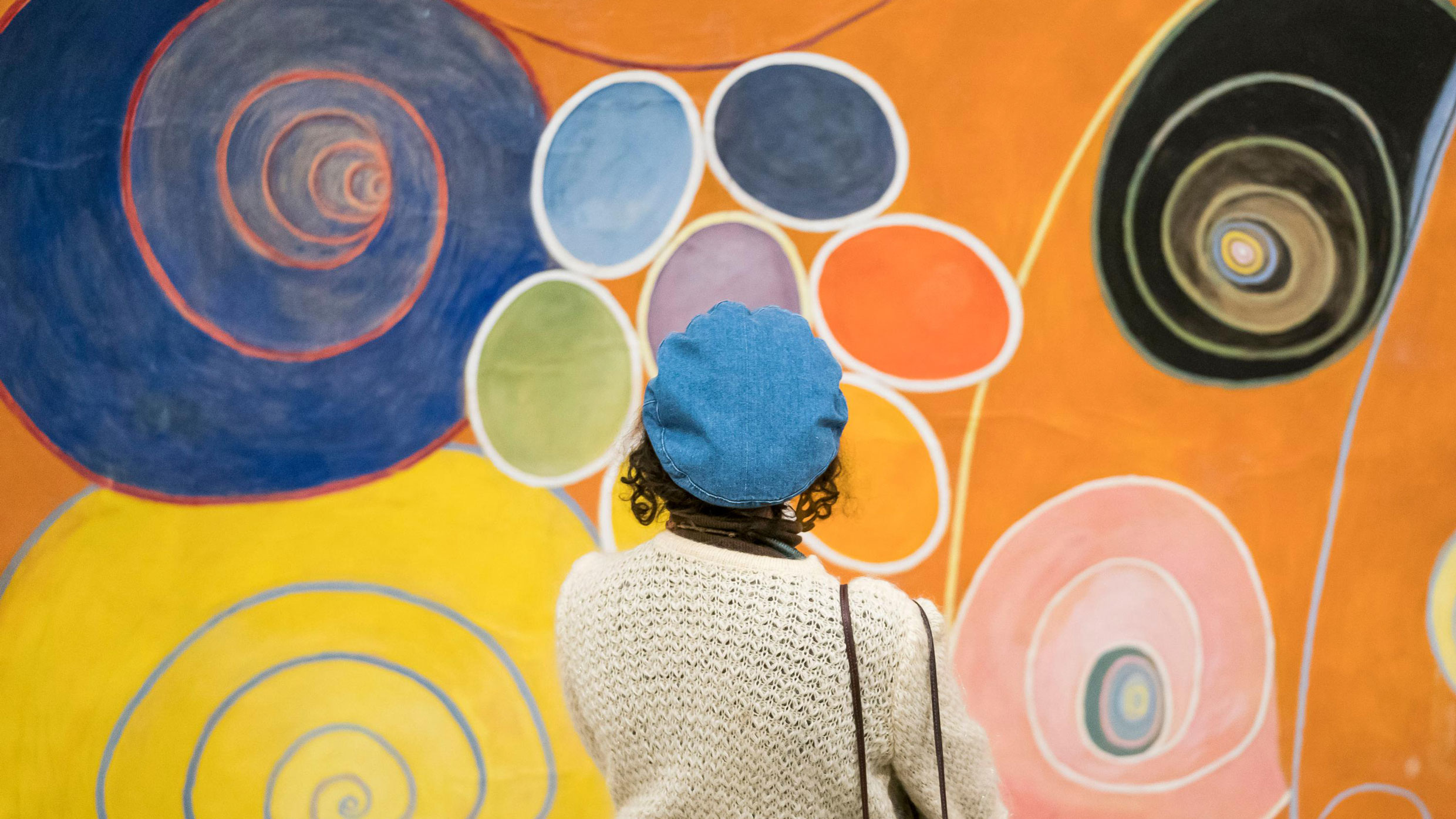 Members' Opening Party for Hilma af Klint: Paintings for the Future; on view October 12, 2018–April 23, 2019. Photo: Ben Hilder
