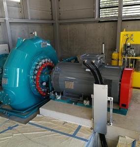 Gugler Francis Turbine Japan Obuse