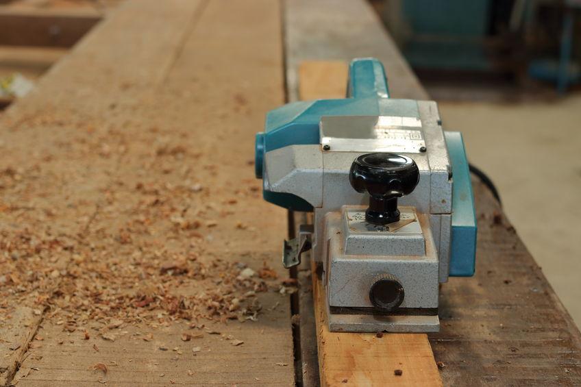 Cepilladora en madera