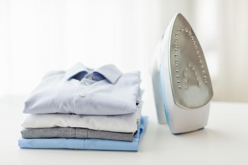 plancha y ropa
