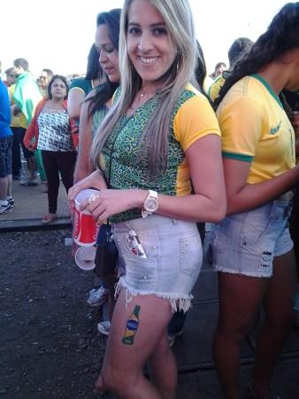 Fifa Fan Fest - Brasil x Chile - Foto 030