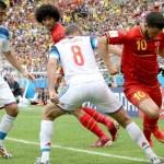 Hazard acorda no fim, Origi marca, Bélgica vence a Rússia e garante vaga