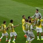 Julio César pega dois pênaltis, Chile bate na trave, e Brasil vai às quartas
