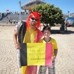 Fotos Argentina x Bélgica em Brasília