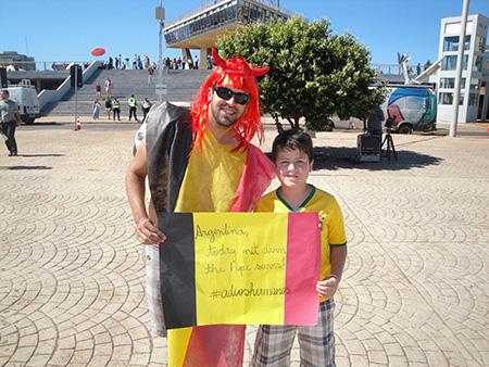 Argentina x Bélgica - Foto 004