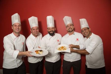 Bacolhoada pelos chefs Maximiliano Sommo, Bruno Rappel, Pablo André, Alexandre Vargas e Jorge Luiz Farias