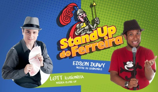 stand up do ferreira - Guia BSB.net