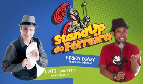stand up do ferreira - Guia BSB.net