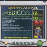 Marinha do Brasil abre 77 vagas para Médicos