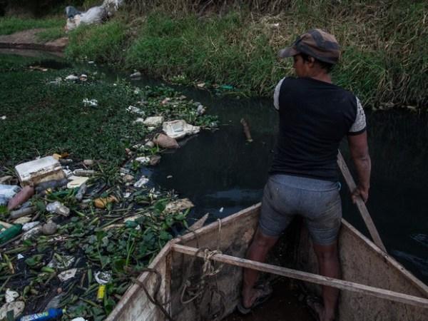 Lixo rio sao paulo