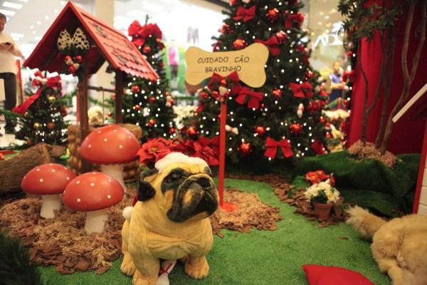 decoração tema de natal boulevard Shopping - Guia BSb.net