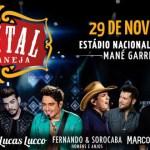 Festival Capital Sertaneja neste sábado, 29/11